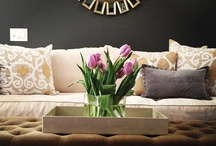 Contemporary Elegant Design / I love to be surrounded by beautiful things...my home is my love, my security, and where I get to be creative. / by Jill Kidd-Reichert