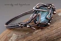Wire wrapping / metalwork - inspiration