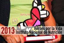 Héroes por la Vida en el Instituto Nacional de Nutrición / Imagenes del evendo del 31 de mayo de 2013, donde se entregaron reconocimientos Héroes por la Vida a donadores voluntarios de órganos en el Instituto Nacional de Ciencias Médicas y Nutrición Salvador Zubirán