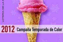 Campaña Temporada de Calor 2012 / La Lotería de la Salud, aplica sencillas medidas de higiene y evita enfermedades para ti y tu familia en esta temporada, ¡lotería!