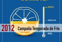 Campaña Temporada de Frio 2012 / Te has preguntado cómo te vas a proteger en este invierno, responde estas sencillas preguntas y evita enfermedades