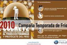Campaña Temporada de Frío 2010 / Sencillas medidas de higiene pueden protegerte como un escudo en esta temporada de frío, aplícalas protégete y protege a tu familia