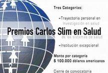 Premios Carlos Slim en Salud / Reconocimientos únicos en la región otorgados a quienes dedican su labor a mejorar la salud de la población en Latinoamérica y el Caribe.