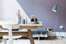 Home office / Home office and study inspiration - for your own work retreat at home. Why not make it the best?
