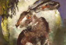 Hare Art 2 /  Hare Art I really like / by Heather