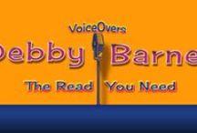 Debby Barnes Voice-Over Demos / Debby Barnes VoiceOvers  www.debbybarnes.com