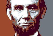 Honest Abe / I heart Abraham Lincoln.