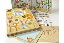 Rachel Ellen Design lettersets and writing paper  / Enjoy the lovely Rachel Ellen Designs greetings cards and beautiful stationery!  Rachel's hand - drawn characters have become instantly recognizable, and her charming style coupled with a top quality product means that Rachel Ellen has become a highly regarded Children's brand.