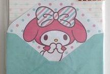Sanrio and San-X products / Kawaii Sanrio and San-X lettersets  Kawaii Sanrio en San-X postpapier sets www.stationeryheaven.nl