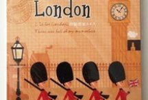 London themed stationeries / perfect for letter writing for all you London lovers!