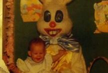 Easter Bunnies: Horrifying Edition / I want to interview the designers of these costumes to find out: How? WHY?