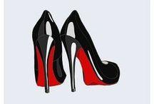 Kengät, laukut ja huivit