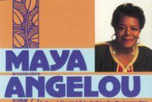 Adult Display - In Memoriam - Maya Angelou / by Grafton Public Library