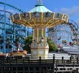 """LES ATTRACTIONS / """"The era we are living in today is a dream of coming true."""" Walt Disney"""