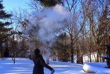 Snow Clouds / Fun at Six Below