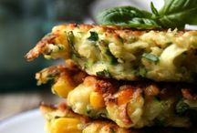 Food: fritters, patties