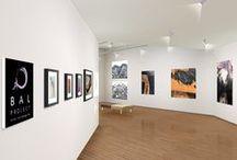 Sala de Exposiciones 3D, con ARTE CONVERGENTE / 3D exhibit room, showing Convergent Art