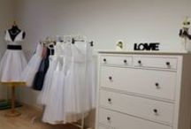 Our wedding salon in Bratislava / .. we already opened our small place for our customers :-) in Bratislava - Stare mesto.