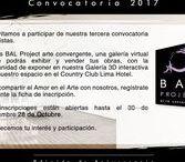 Convocatoria de Artistas - Call for Artists