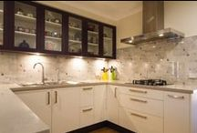 Mitcham Kitchen / Designer: Suzzanne Blades  Location: Mitcham Photography by Yvonne Menegol