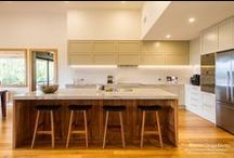 Wandin Kitchen, Pantry, Laundry & Bathrooms / Designer: Peter Schelfhout Location: Wandin Photography by Yvonne Menegol Our Designer and Director, Peter Schelfhout, worked with our clients located in the leafy suburb of Wandin. This beautiful, country homestead needed something unique, slightly traditional and yet with a contemporary edge. The features in this kitchen are nothing short of stunning while still incredibly practical and functional. We also did the cabinetry in the walk in pantry, laundry, bathrooms and robes.