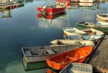 By The Sea... / All things seaworthy! Livin' by the sea in Rockport, MA. Ahhhh.....