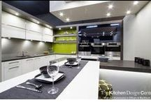 Blackburn Showroom 7 / Designer: Corey Johnson Location: Blackburn Showroom Photography by Yvonne Menegol This kitchen was designed specifically for our Blackburn Showroom to show an alternative way of living in the kitchen space, featuring a T shape island bench. A large butler's pantry stands proud beside it making it the perfect example of a functional family or entertainer's kitchen. For the household who loves to cook, this kitchen is packed will brilliant ideas!