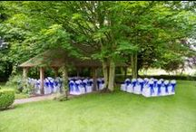 Wedding Suites / We have suites to suit all occasions whether a grand 'white wedding' or 'just the two of you' - including our 'Fairytale' Oak Pavilion in the gardens - just magical for an outdoor Civil Ceremony!