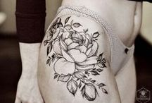 """body, art / """"A tattoo is a true poetic creation, and is always more than meets the eye. As a tattoo is grounded on living skin, so its essence emotes a poignancy unique to the mortal human condition."""" - V Vale / by Cy Chn"""