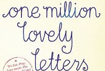 One Million Lovely Letters / ONE MILLION LOVELY LETTERS by Jodi Ann Bickley is out now. http://bit.ly/1ckjWkg