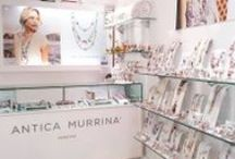 Antica Murrina Corners and Boutiques in Greece / #handmade #jewelry#murranoglass