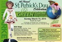 ST. PATRICK'S DAY CELEBRATION AND GREEN FESTIVAL / What do you get when you merge St. Patrick's Day and Earth Day together?  The Ultimate GREEN festival at the O.C. Market Place.  Take a look at our event.