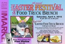 EASTER FESTIVAL AT THE O.C. MARKET PLACE / It's always a fun-filled day for the whole family at the O.C. Market Place.  Special events like Easter (Saturday) include  lots of activities for the kids and an Easter Treasure hunt!