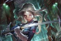 Inspiration: Swordmaiden