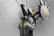 キャラデザ:メカ・装甲