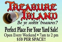 TREASURE ISLAND AT THE OC MARKET PLACE / Treasure Island is open! Come on down to find your next treasure. Lots of great items awaiting new homes. Treasure Island is located on the Newport Blvd. side of the OC Market Place and is included in Swapmeet admission. Open 7 a.m. til 2 pm. Saturday and Sunday.