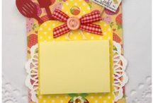 Cookbook & Minipad note - post it / Cookbook, Mini books and magnetics