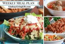 HEALTHY MEAL PLANS / Need help planning for the week? Look No Further for Healthy, Gluten-free, Paleo, Vegetarian Weekly Meal plans all geared to getting your body fueled for whatever comes your way