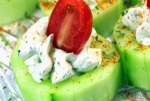Healthy savory snacks