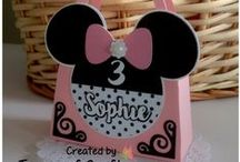 Party Decor Creations / Favor Box, Favor Bag, Candy Basket, Paper cake, Invitation Card, Cupcake Wrapper, Cupcake Topper