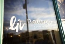 Inside Liv / See the latest from inside Liv Boutique, a new lifestyle boutique located in the heart of St. Matthews.
