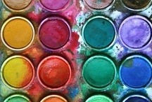Vivid Colours / Beautiful examples of vivid, bright colours working together...
