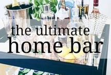 The Ultimate Home Bar / Have the best bar on the block with these bar essentials and styling tips. Plus, stay up to date on the best new gadgets and innovations.
