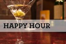 So Happy it's Happy Hour! / Cocktails and drinks perfect for happy hour at home!