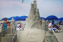 Sand Art / FROM GRAINS OF SAND TO GREAT WORKS OF ART