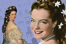 Romy Schneider / Sisi / This board is for my Granddaughter Romy-Milou because she is named after Romy Schneider. Romy Schneider was a actrice and played Sisi in the famous Film - Empress Elisabeth 'Sisi' of Austria