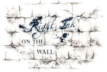 Right Ink On The Wall / Exploring the ink on the wall of the world