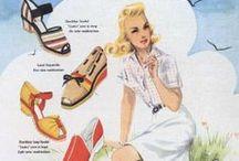 Vintage forties posters