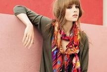 Fashion:Wear That Scarf / Styling Tips and Inspiration for scarf lovers