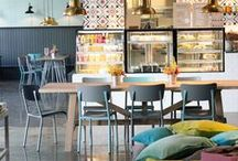 Cafes & Restaurants / Dedicated to professionals who delegate to creativity their present or future success. Here you will find some ideias for interiors of cafe and restaurants!